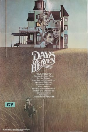 Days Of Heaven UK One Sheet Poster