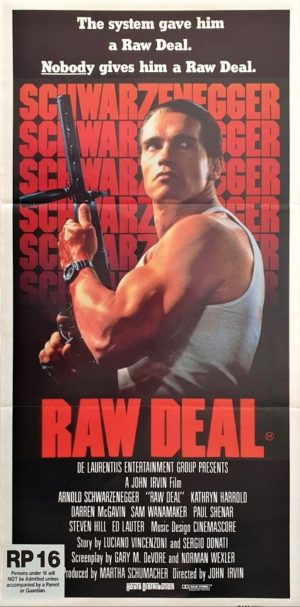 Raw Deal Australian daybill poster