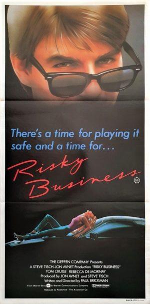 Risky Business Australian daybill poster