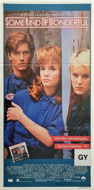 Some Kind Of Wonderful Australian daybill poster John Hughes (24)