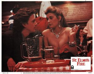 St Elmo's Fire US Lobby Card 1985