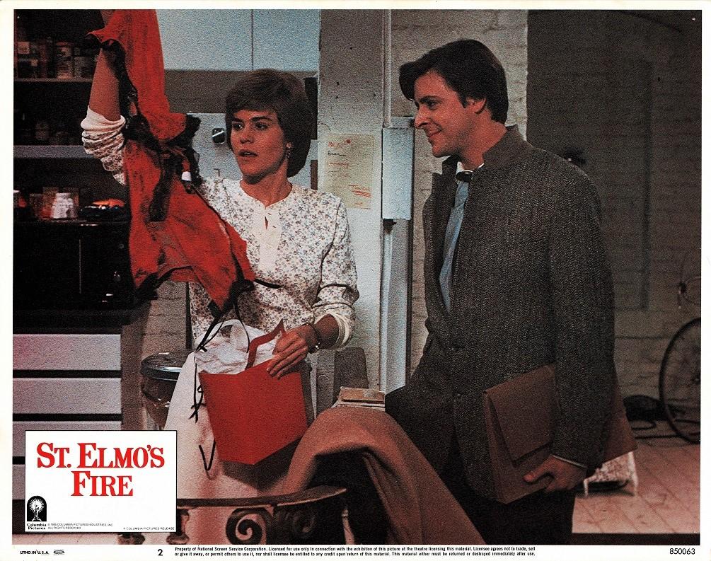 St Elmo's Fire US Lobby Card 1985