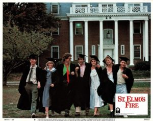 St Elmos Fire US Lobby Card 1985 (4)