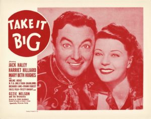 Take It Big 1951 US Lobby Card