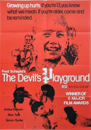 The Devils Playground NZ One Sheet poster