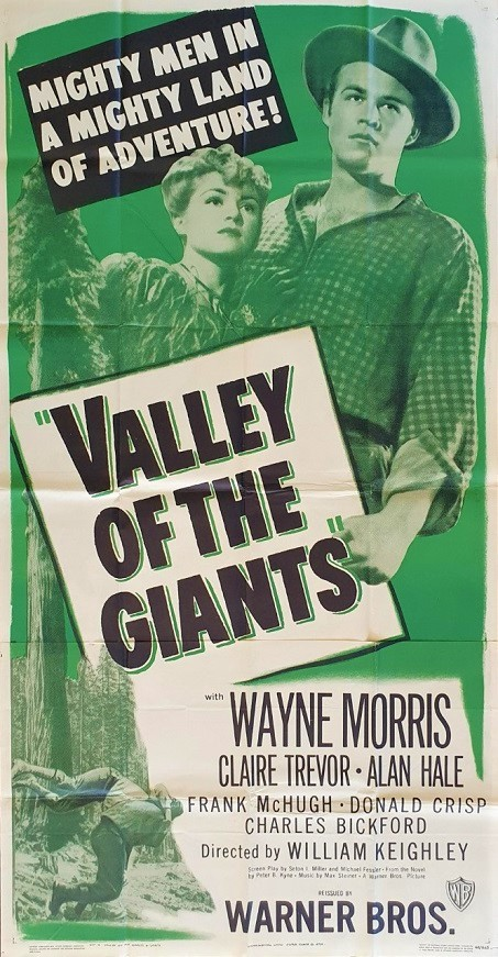Valley of the giants 1948 US 3 Sheet Movie Poster