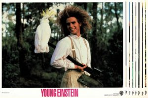 Young Einstein US lobby card set (6)