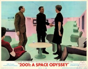 2001 A Space Odyssey US Lobby Card No 2