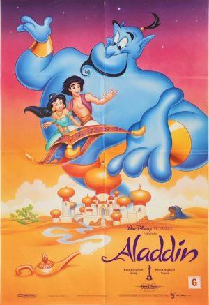 Aladdin Australian One Sheet Poster Walt Disney (4)