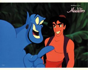 Aladdin US Lobby Card Walt Disney (4)