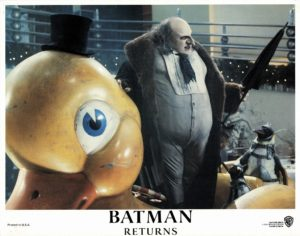 Batman Returns US Lobby Card 1992 with Michael Keaton. Danny DeVito and Michelle Pfeiffer (14)