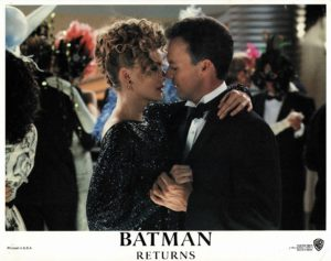 Batman Returns US Lobby Card 1992 with Michael Keaton. Danny DeVito and Michelle Pfeiffer (20)