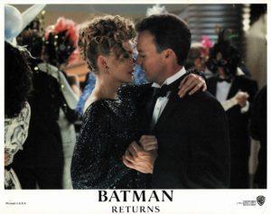 Batman Returns US Lobby Card 1992 with Michael Keaton. Danny DeVito and Michelle Pfeiffer (20)