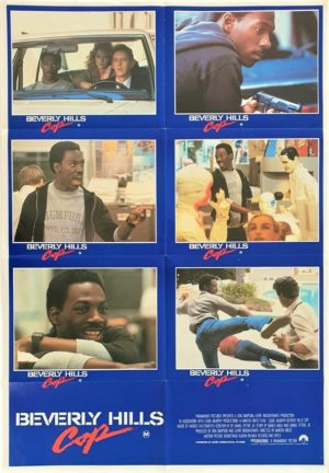 Beverly hills cop Australian Lobby Card One Sheet movie poster with Eddie Murphy (10)