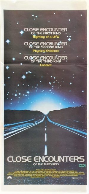 Close Encounters of the third kind Australian Daybill movie poster (15)