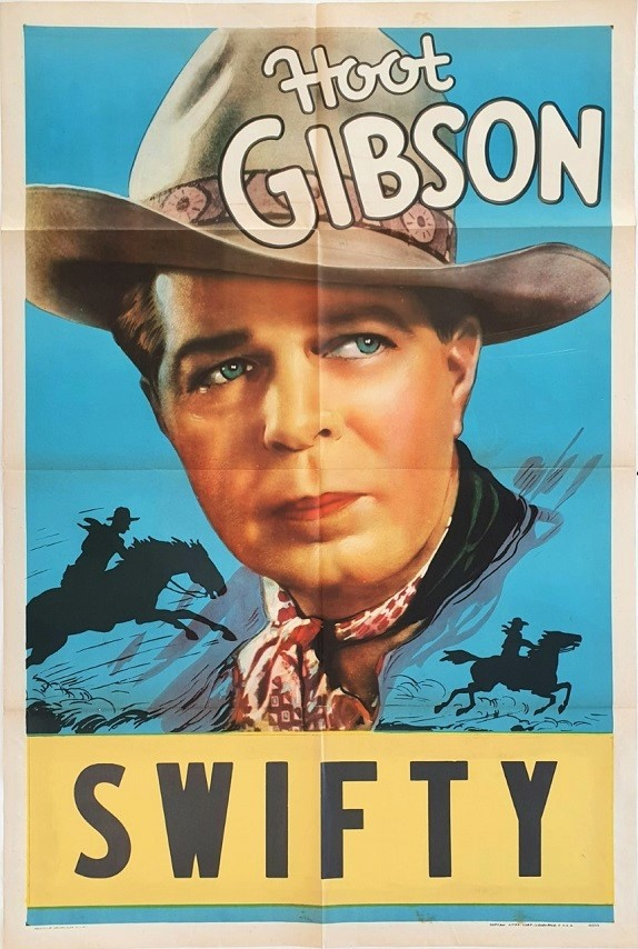 Hoot Gibson Swifty US One Sheet Poster 1940s