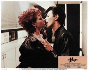 Hunger US Lobby Card with David Bowie 1983