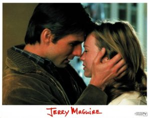 Jerry Maguire US Lobby Card was Tom Cruise 1996