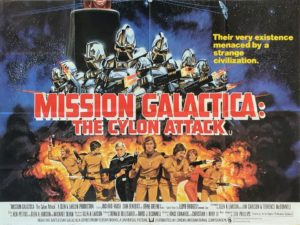 Mission Galactica Cylon Attack UK Quad Film Poster (9)