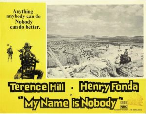 My Name Is Nobody Australian Lobby Card with Terence HIll and Henry Fonda
