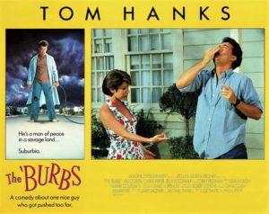 The Burbs Lobby Card Set with Tom Hanks (4)