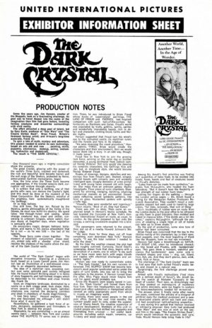 The Dark Crystal Press Sheet (15)