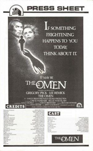 The Omen Australian Press Sheet (4)