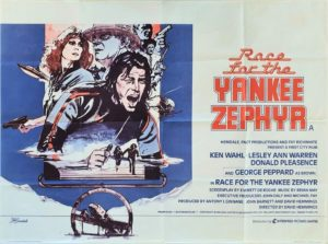 The Race For Yankee Zephyr UK Quad Film Poster set in New Zealand (13)