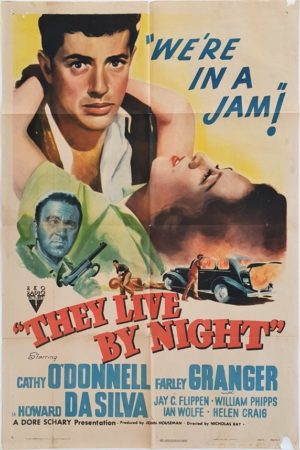 They Live By Night US One Sheet Movie Poster 1948