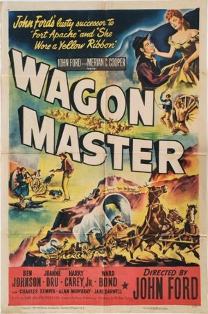 Wagon Master US One Sheet Movie Poster 1950 Directed by John Ford (8)