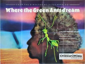 Where The Green Ants Dream UK Quad Film Poster Directed by Werner Herzog (10)