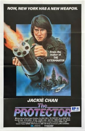 The Protector US One Sheet with Jackie Chan RP16