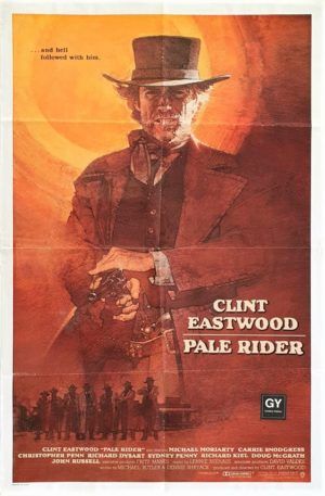 Pale Rider US One Sheet International Poster with Clint Eastwood