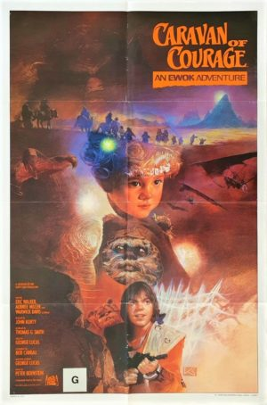 Caravan of Courage Star Wars US One Sheet Poster with NZ rating 1