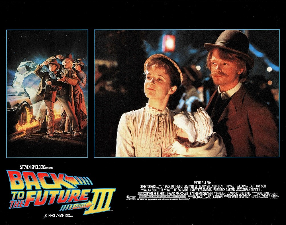 Back to the future Part 3 US lobby card (13)