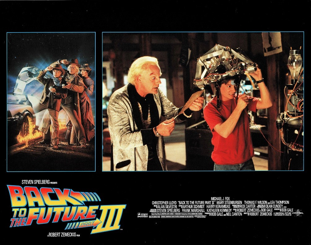 Back to the future Part 3 US lobby card (16)