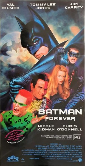 Batman forever Australian daybill movie poster (13)