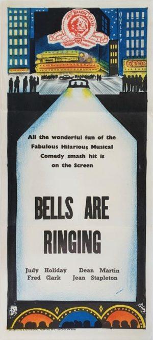 Bells are ringing Australian daybill movie poster (102)