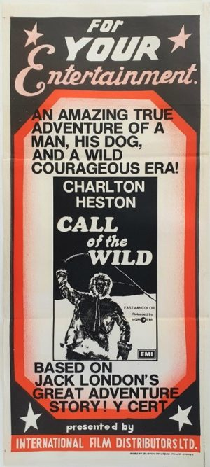 Call of the Wild Australian daybill movie poster (82)