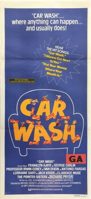 Car Wash Australian daybill movie poster (48)