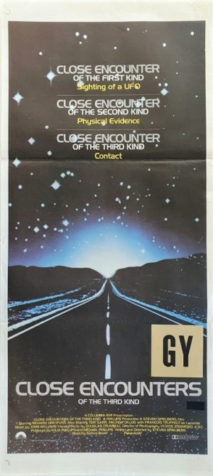 Close Encounters of the Third Kind Australian daybill movie poster (65)