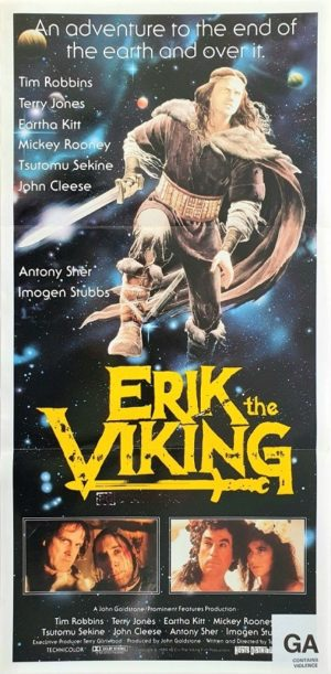 Erik the Viking Australian daybill movie poster (15)