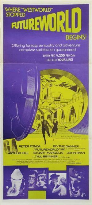 Futureworld Australian daybill movie poster (11)