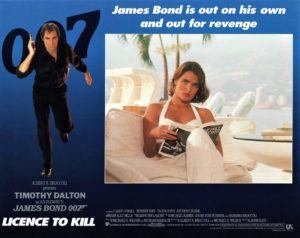 Licence to Kill 1989 UK Lobby Card with Timothy Dalton as 007 James Bond (5)