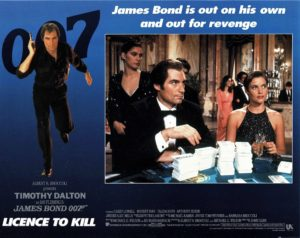 Licence to kill US lobby card 007 James Bond Timothy Dalton 1989 (7)