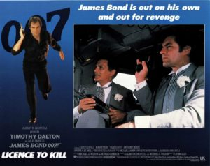 Licence to kill US lobby card 007 James Bond Timothy Dalton 1989 (8)