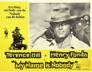 My Name Is Nobody Australian Lobby Card with Terence HIll and Henry Fonda 1973