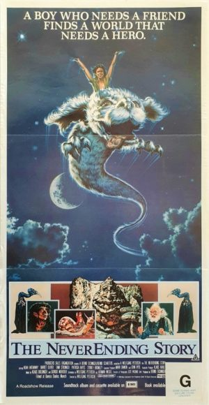 Neverending Story Australian daybill movie poster (3)