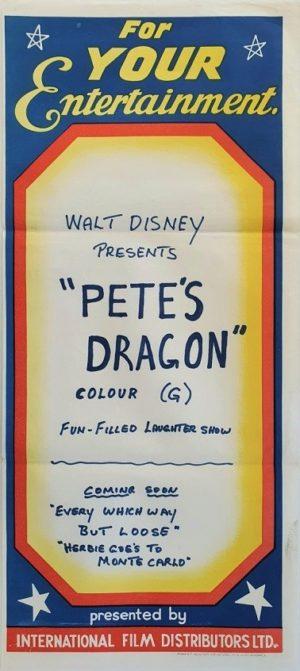 Pete's Dragon Australian daybill movie poster (58)