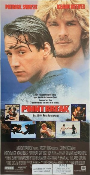 Point Break Australian daybill movie poster (12)